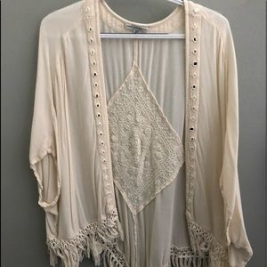 American eagle short sleeve cardigan